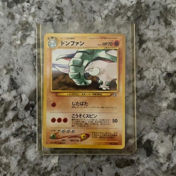 Pokémon Cards: Donphan 70HP